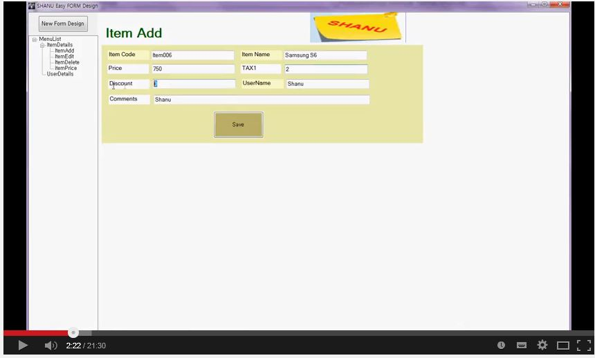 Easy Form Design at Run Time C# Winform - TechNet Articles ...