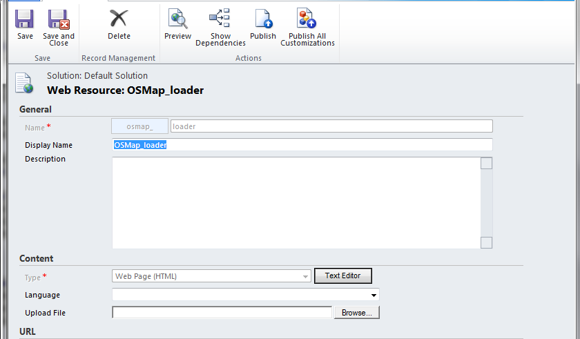 Dynamics CRM 2011 Map solution with OpenStreetMap - TechNet