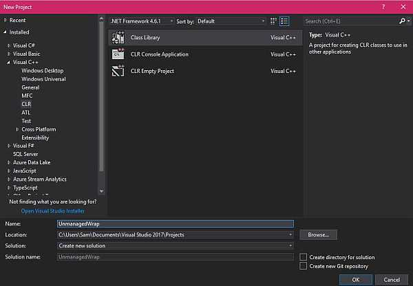 Managed C++ Wrapper For Unmanaged Code - TechNet Articles