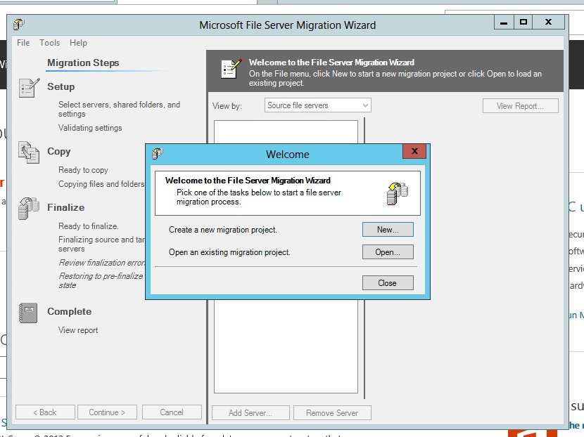 Usage of File Server Migration Toolkit - TechNet Articles