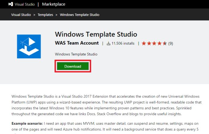 Universal Windows App: Building an app using Windows
