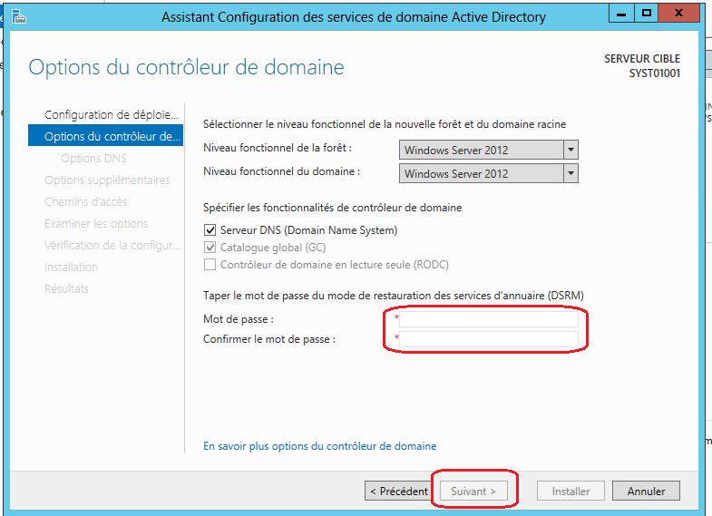 windows server 2012  comment cr u00e9er un contr u00f4leur de domaine  fr-fr  - technet articles