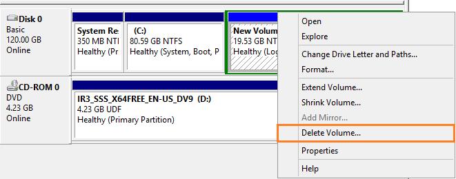 Windows Server 2016: Expand Virtual Machine Hard Disk
