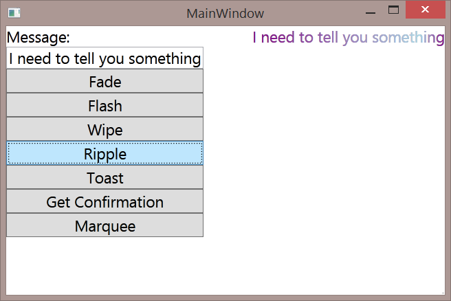 WPF: MVVM Friendly User Notification - TechNet Articles