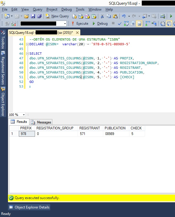 T-SQL: Splitting a String into multiple columns - TechNet
