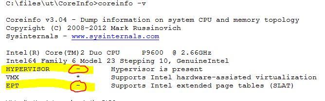 Hyper-V: List of SLAT-Capable CPUs for Hosts - TechNet