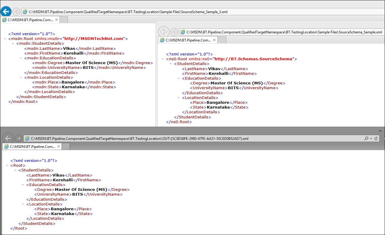 BizTalk Custom Pipeline Component to Add, Update, Remove Target