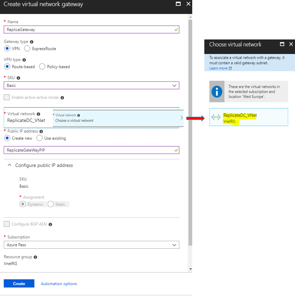 Azure: Replicate On-premise Domain Controller To Azure Virtual Machine
