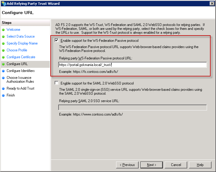 SharePoint 2010: How to Install and Configure ADFS 2 0 on Windows