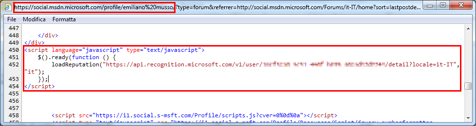 Parse a JSON stream to show TechNet Medals on WPF ListBox - TechNet
