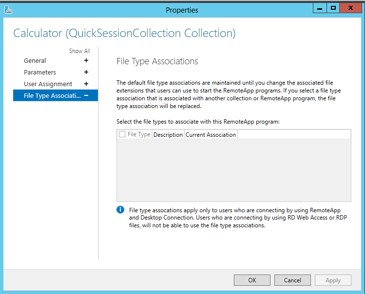 Publishing Remote Apps in Windows Server 2012