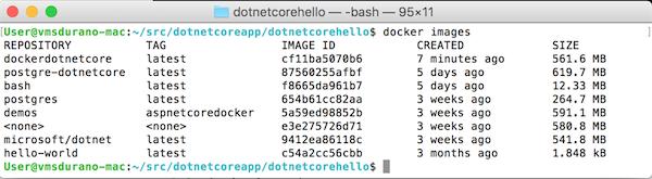 NET Core: Building An ASP NET Core App On Docker for MAC OS