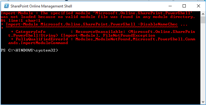 SharePoint Online: Working with PowerShell - TechNet Articles