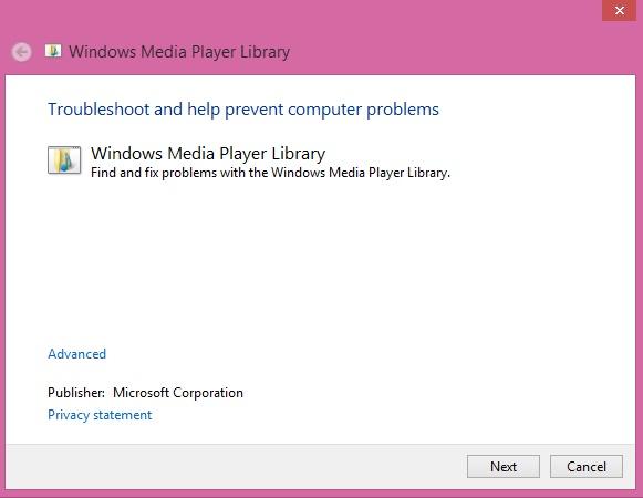 windows media player 8.1 problem