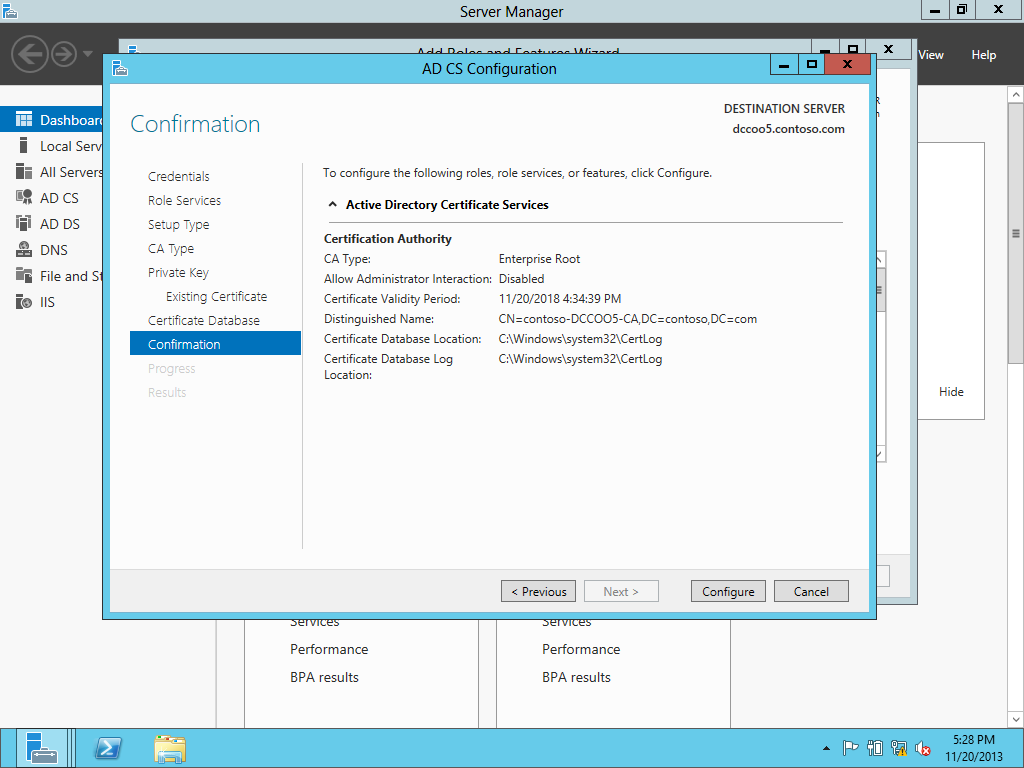 Upgrading The Pki From Windows Server 2008 R2 To Windows Server 2012
