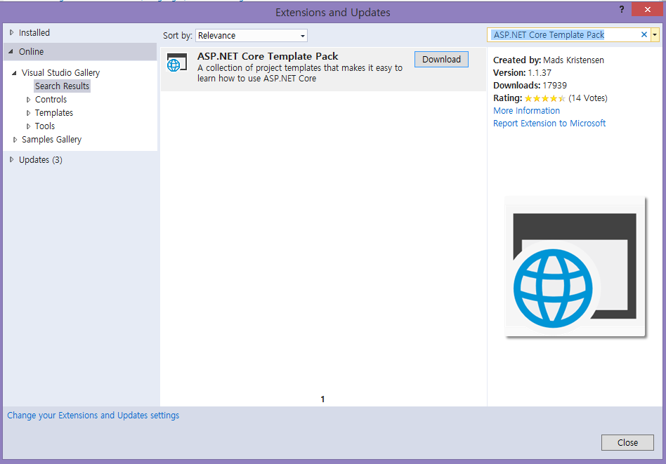 ASP.NET Core Template Pack - TechNet Articles - United States ...