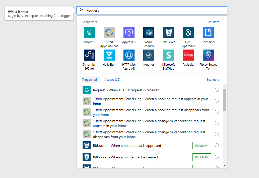 SharePoint Online: Trigger a Microsoft Flow with button