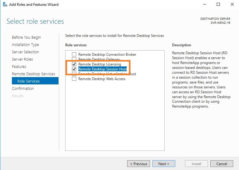 Instalando e Configurando Remote Desktop Service Windows