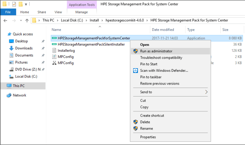 SCOM 2016: Integrating with HPE OneView 4 0 - TechNet