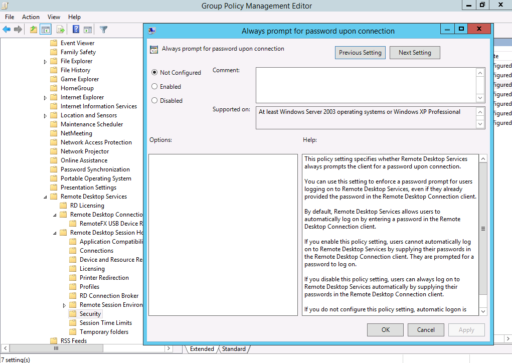 Management how to changes for rds in windows server 2012 and b log on settings yadclub Images