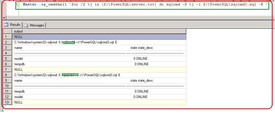 SQL Script: Passing Parameters to SQL script with Batch File
