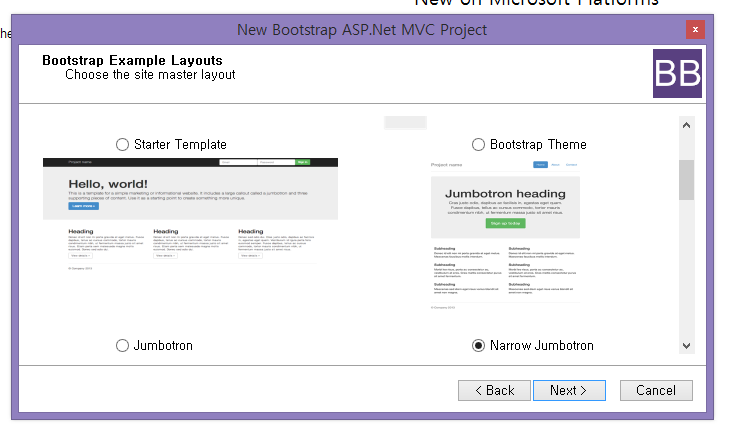 ASP NET MVC: Customizing Bootstrap Templates - TechNet Articles