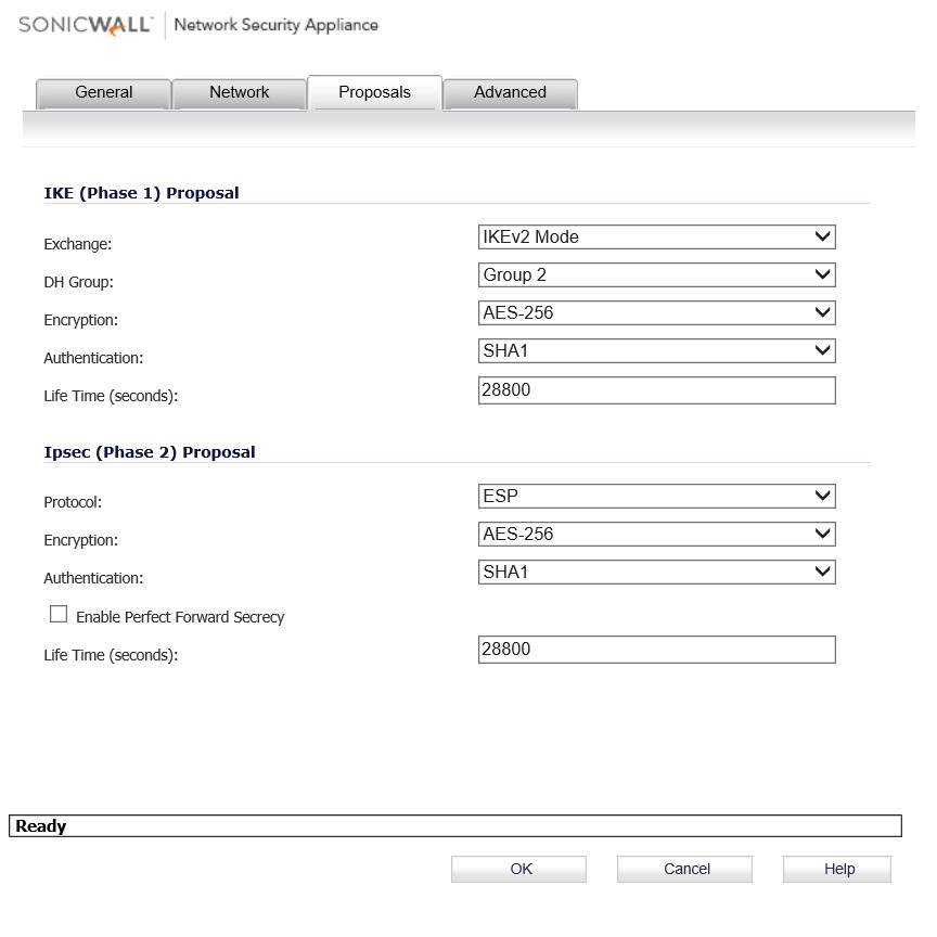 Microsoft Azure Site to Site VPN with SonicWall Hardware
