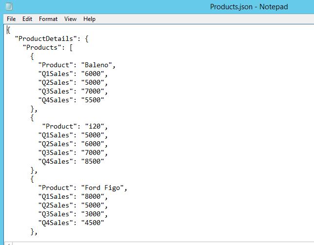 Generate Power BI reports from data in JSON file - TechNet