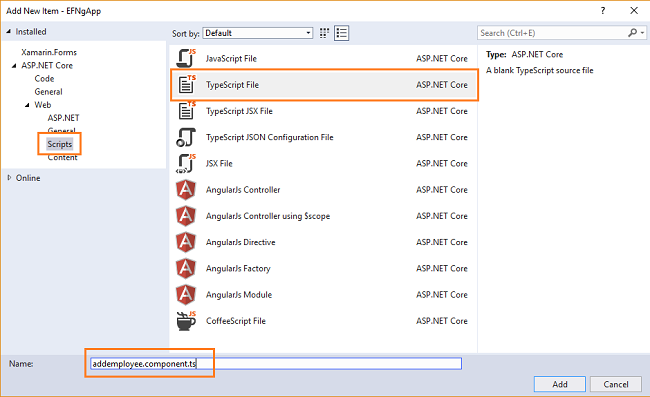 ASP NET Core 2 0: CRUD Using Angular 5 And Entity Framework Core