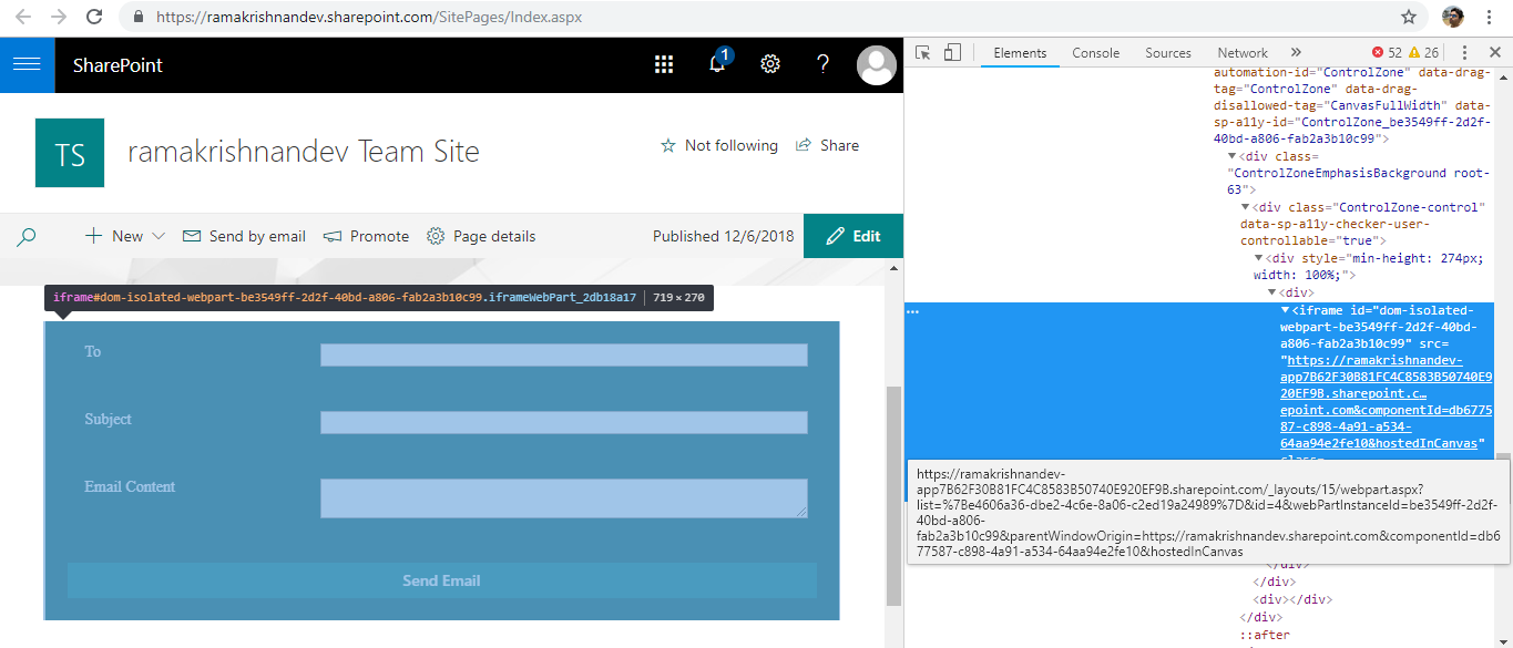 SharePoint Framework (SPFx): An introduction to Isolated
