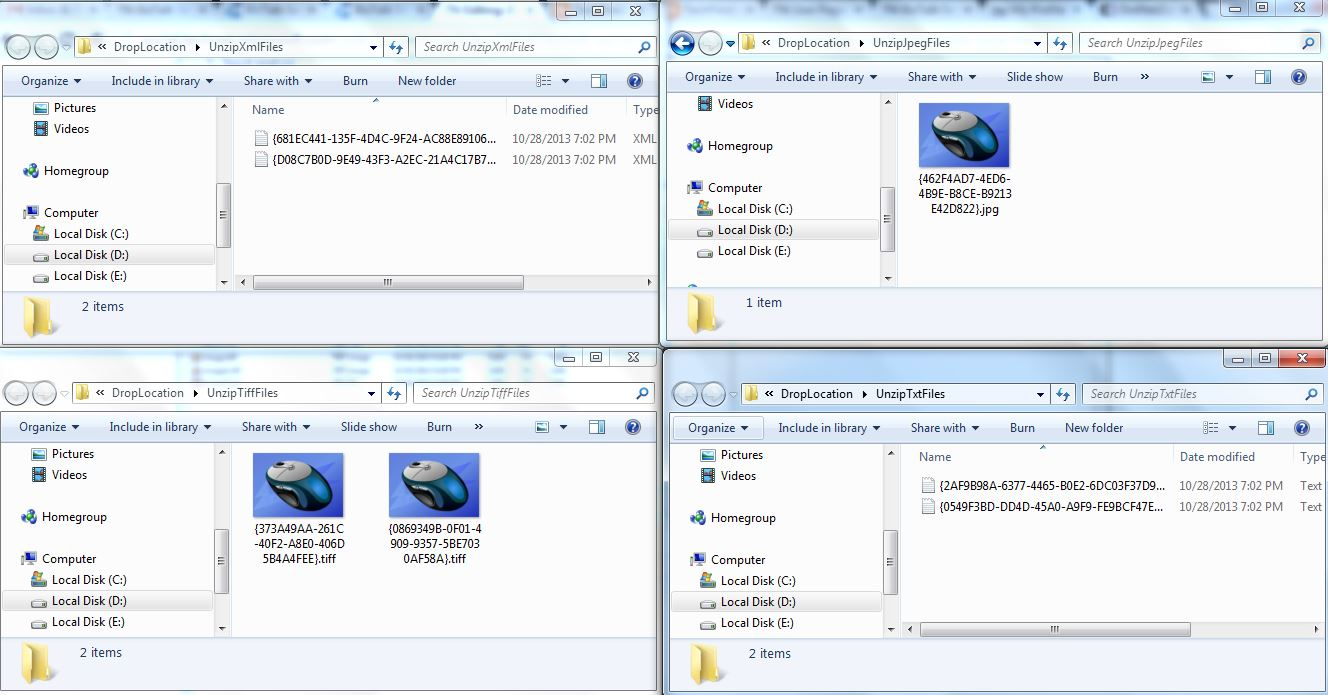 BizTalk Server 2010: Processing Zip Message Having Multiple