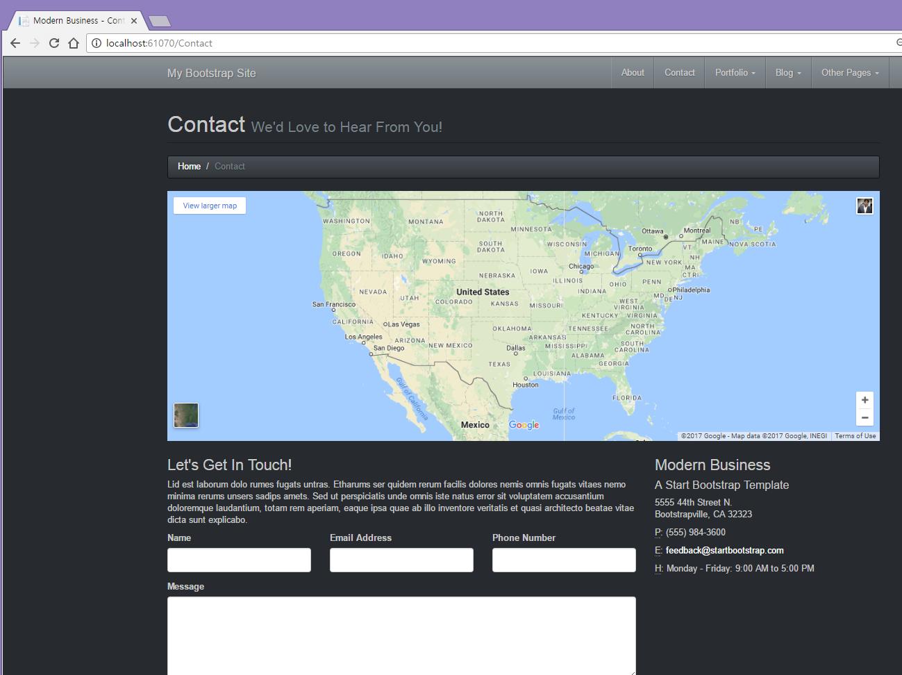Customizing ASP.NET MVC Bootstrap Templates - TechNet Articles ...