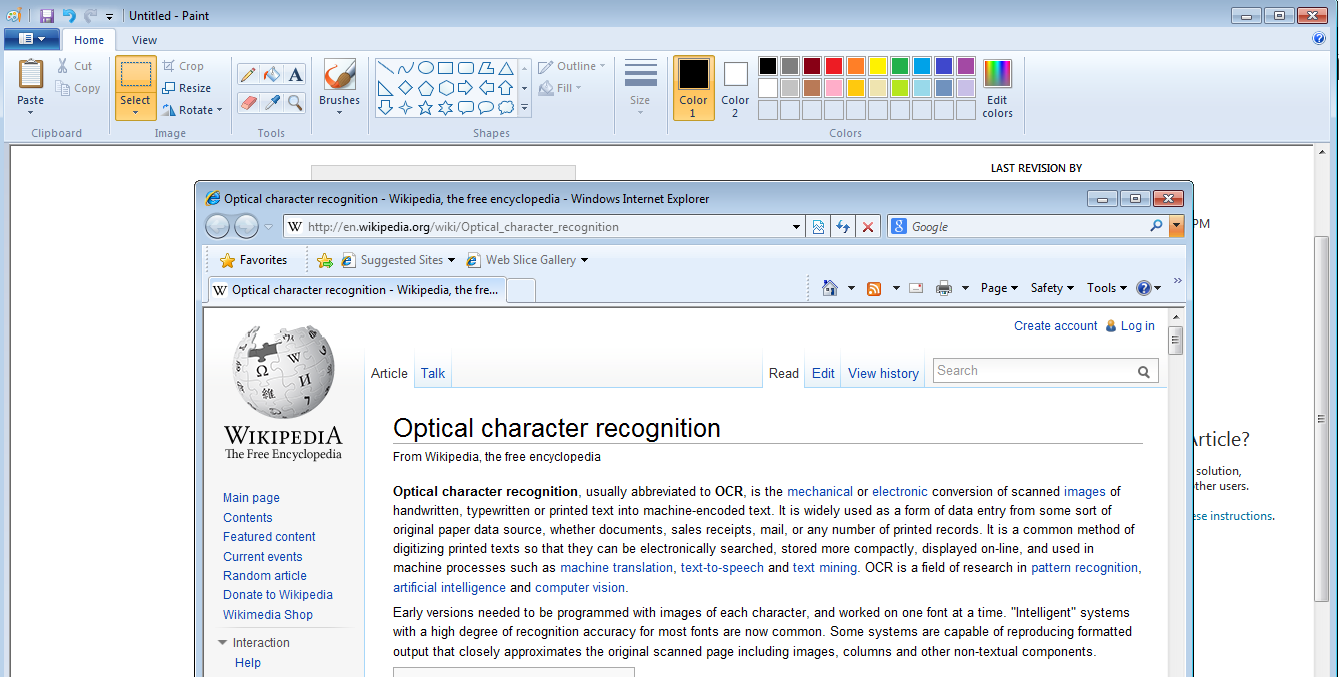 OneNote: Optical Character Recognition - TechNet Articles
