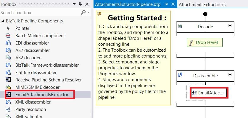 Biztalk 2010 Custom Pipeline Component returns binary - Stack Overflow