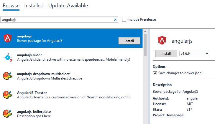 ASP Net Core: Single Page Application with AngularJs