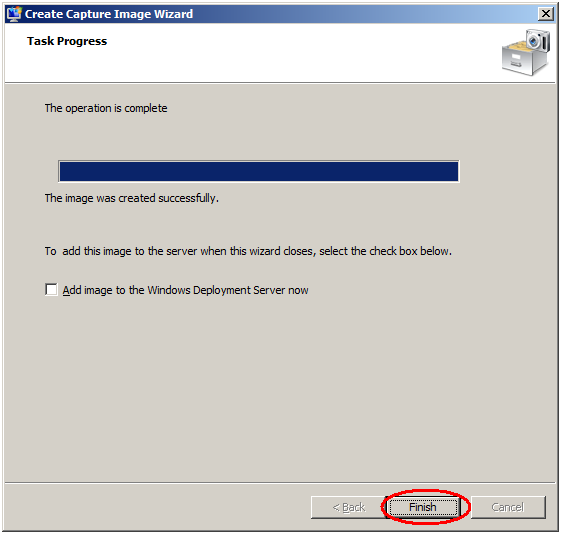 Creating a Capture Image in WDS - TechNet Articles - United