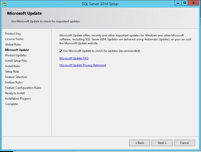 SQL Server 2014 Step by Step: Installation - TechNet