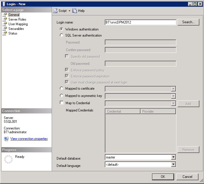 System Center Data Protection Manager 2012: Installation