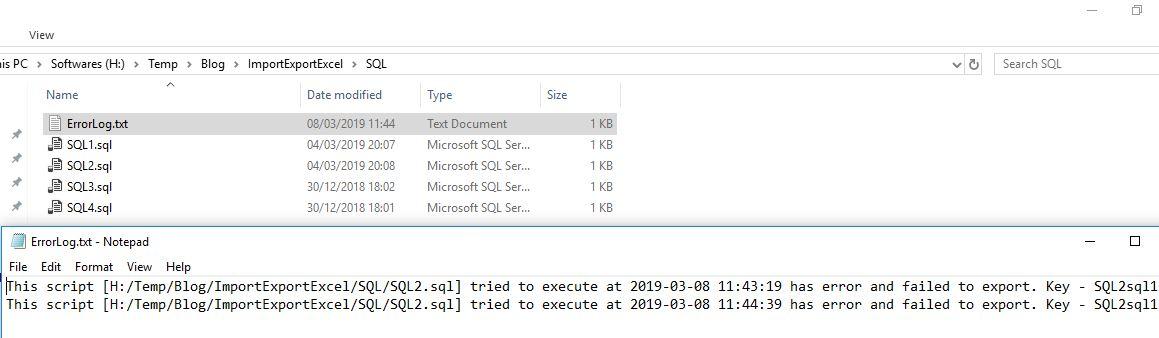 Sql Server Export Sql File Output To Excel File With R Script
