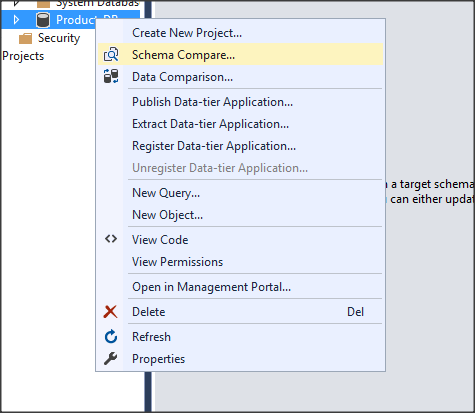 Microsoft azure updating sql database schema using visual studio now we need to make our azure database the destination and select the source one from which we will update ccuart Gallery