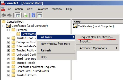 Ldap over ssl ldaps certificate request new certificate yelopaper Gallery
