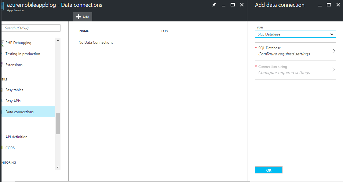 Getting started with azure mobile app with custom model technet getting started with azure mobile app with custom model ccuart Image collections