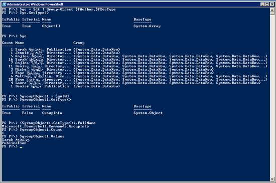 SharePoint: Using PowerShell to Group Filter and Sort Documents by