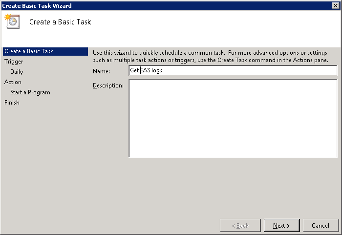 how to use task scheduler for exchange scripts technet articles