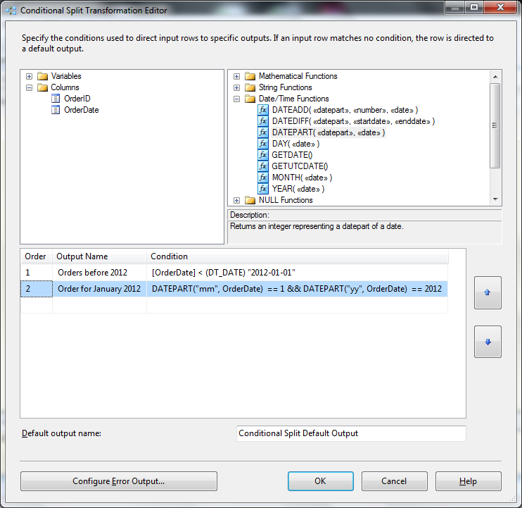 ssis conditional split transformation technet articles united