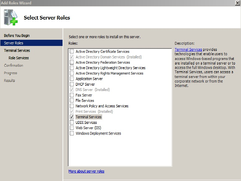ts server list
