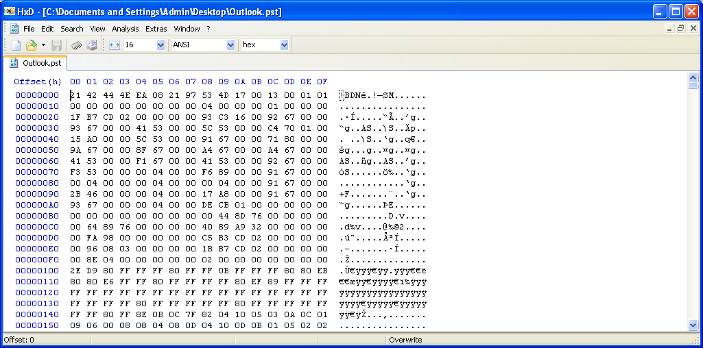 Outlook: How to Recover Permanently Deleted Emails using Hex Editor
