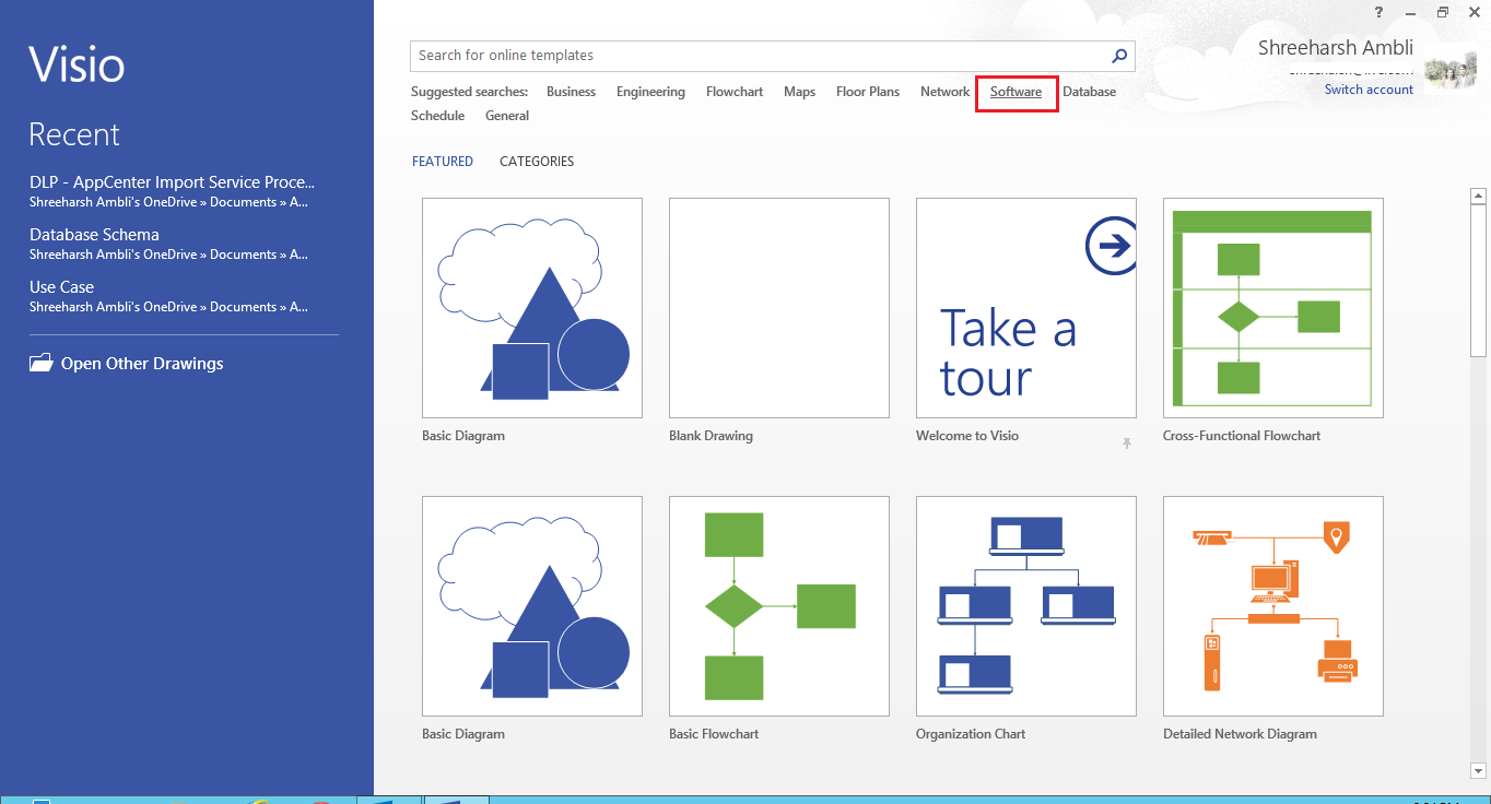Documenting use cases using visio professional technet articles choosing the right template ccuart Choice Image