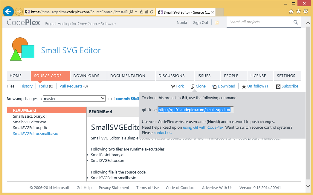 Small Basic: Revision Control - TechNet Articles - United