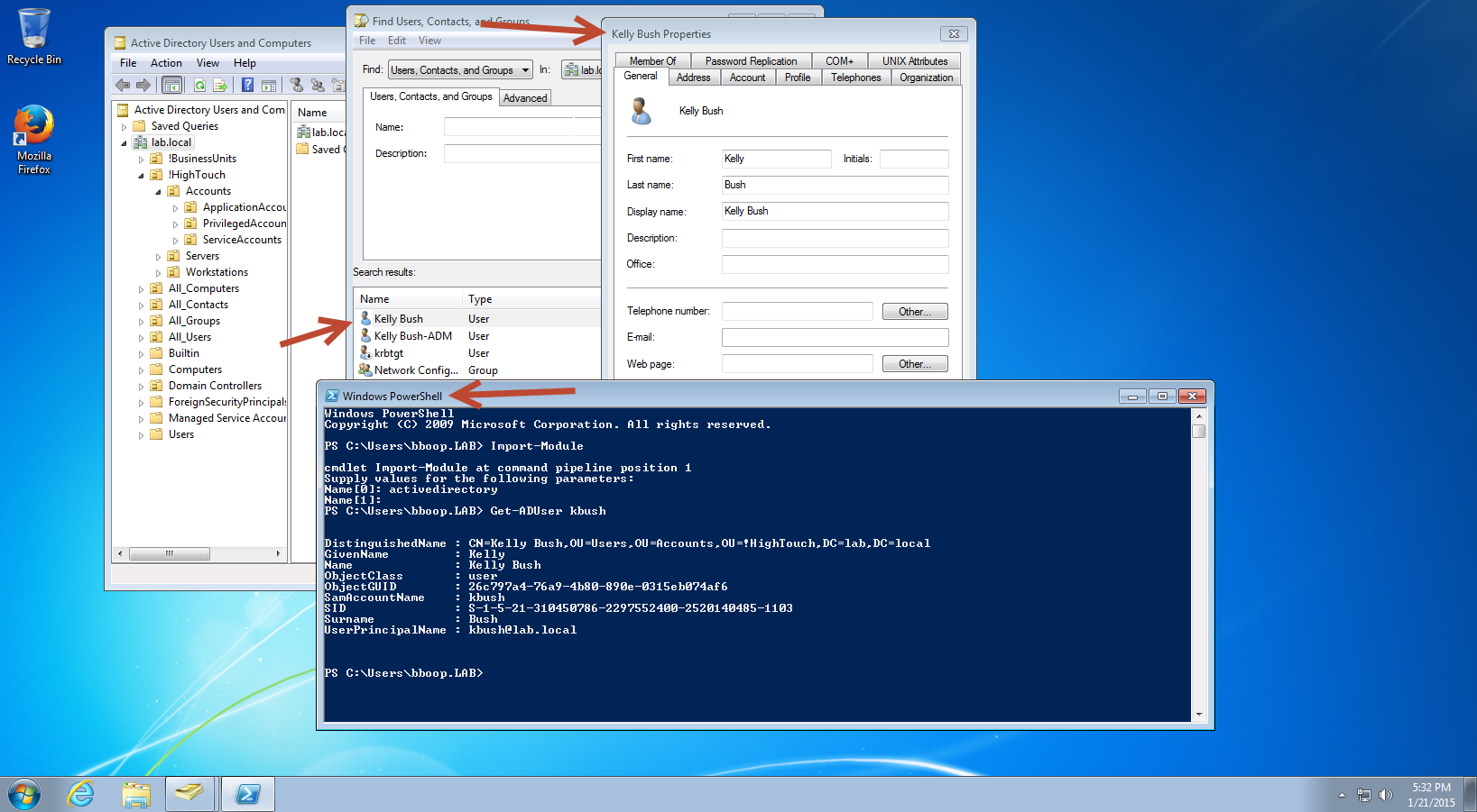 Active Directory: Controlling Object Visibility – List